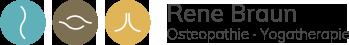 Osteopath Rene Braun Logo